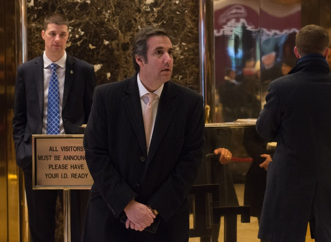 Michael Cohen, Trump's personal attorney, trashed the Times story.