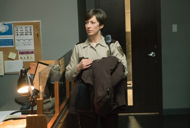 Carrie Coon kills it as Gloria in 'Fargo.'