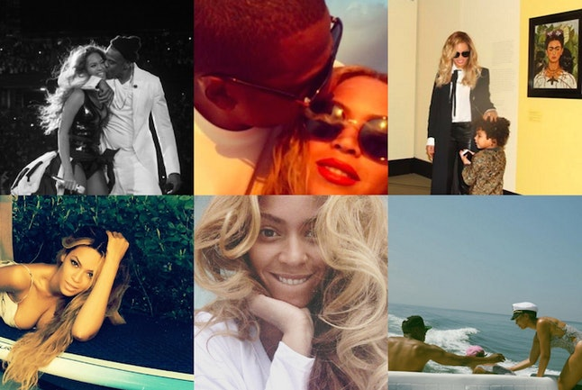 Beyoncé occasionally blesses fans with candid glimpses of her life on Instagram.