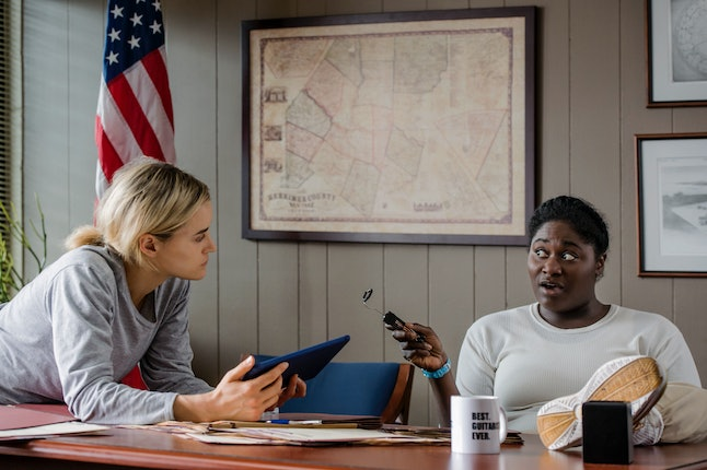 Taylor Schilling and Danielle Brooks