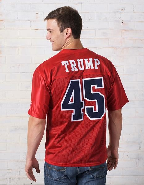 Stand Up for America Men's Football Jersey