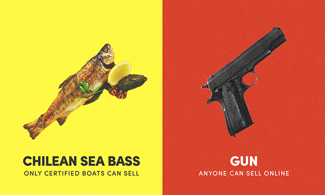 How is it harder to buy a fish than a gun?
