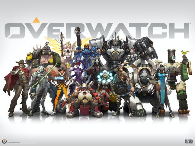 The original 21 characters of 'Overwatch'