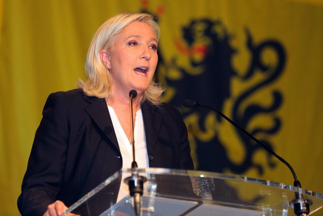 Nationalist Front leader Marine Le Pen is seen as the driving force behind far-right policies in France.