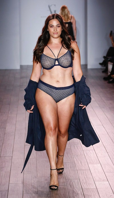 Addition Elle Presents Holiday 2016 RTW + Ashley Graham Lingerie fashion show on September 14, 2016
