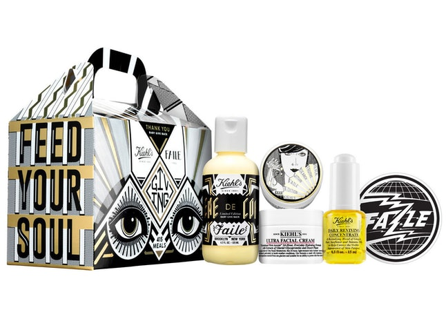 Included in set: Daily Reviving Concentrate, Limited Edition Ultra Facial Cream, Limited Edition Creme de Corps and Limited Edition FAILE sticker