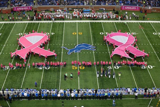 An NFL breast cancer initiative