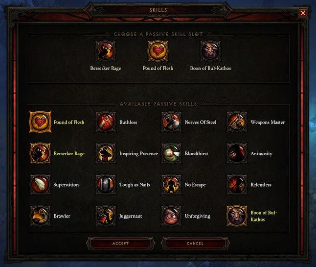 'Diablo 3' skills