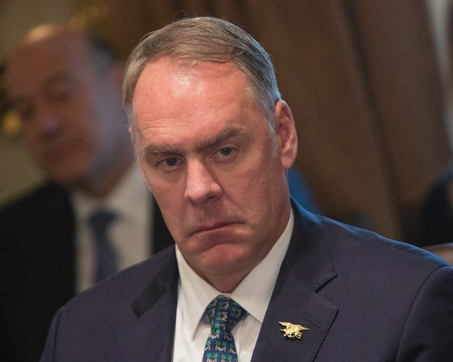 U.S. Secretary of the Interior Ryan Zinke