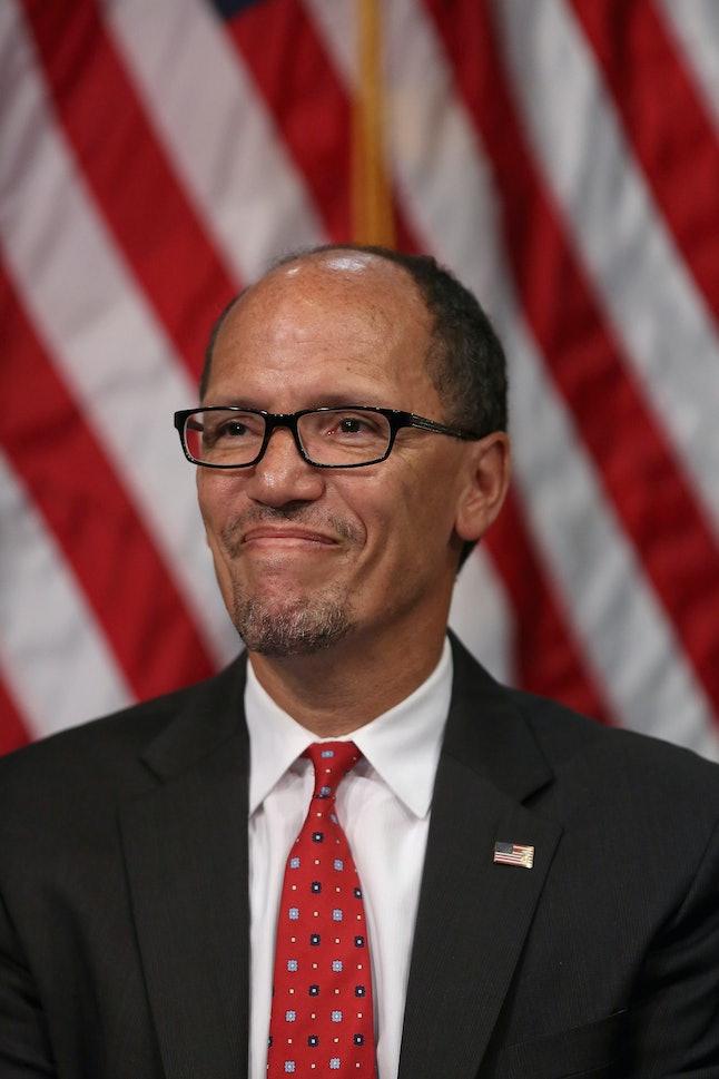 Labor Secretary Tom Perez