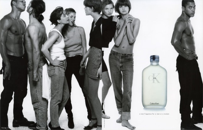 Calvin Klein's iconic 1994 ad campaign for the unisex CK One