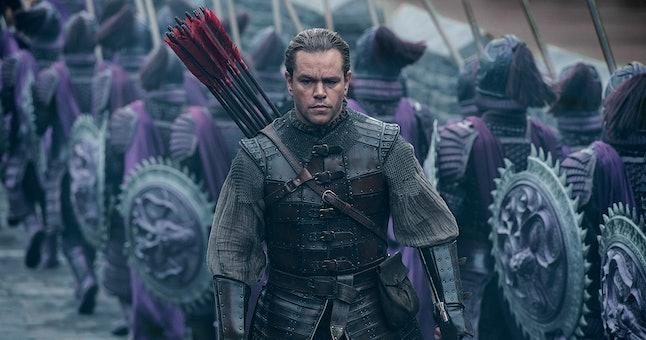 Matt Damon in 'The Great Wall'