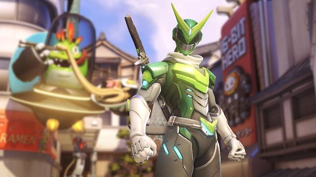 Genji's new 'Overwatch' Anniversary skin