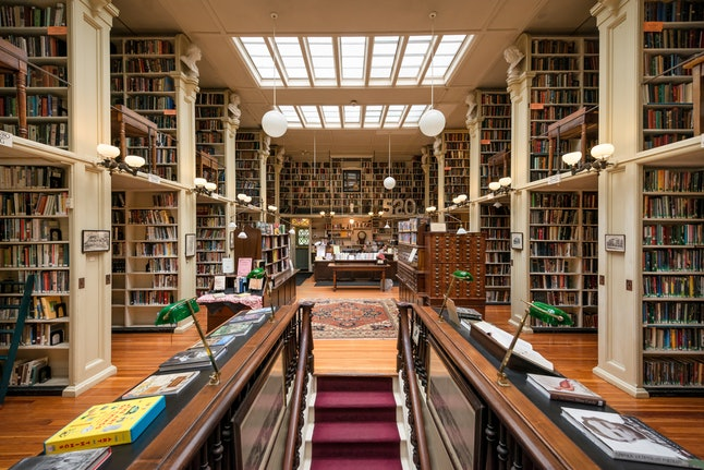 Lose yourself in the stacks at the Providence Athenaeum.