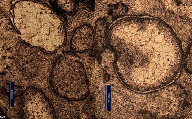 Impact spherules found in Australia.