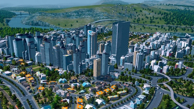 If your dad loves methodical planning, 'Cities: Skylines' is a great starter game.