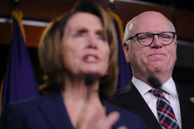 House Minority Leader Nancy Pelosi (D-Calif.) and Rep. Joseph Crowley (D-N.Y.)