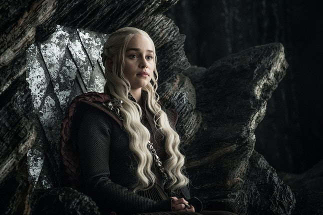 Dany's throne in Dragonstone is way more comfortable than the Iron Throne