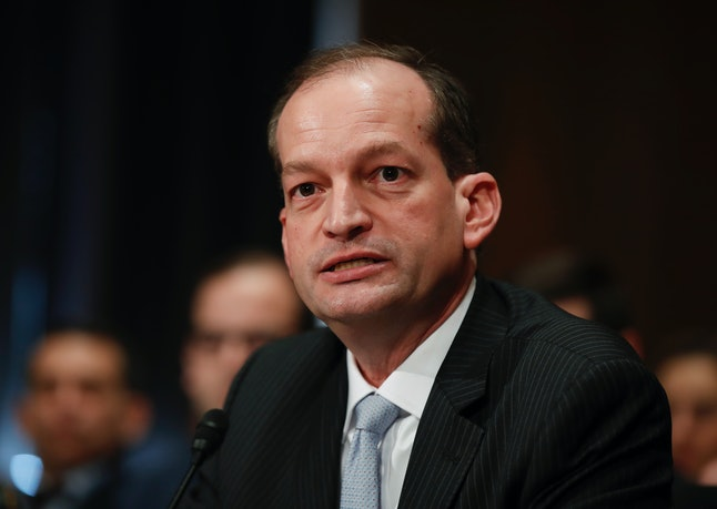 Alexander Acosta is expected to be confirmed as the Labor secretary in President Donald Trump's cabinet.