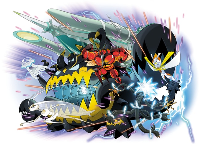 'Pokémon Sun and Moon' team builder: Ultra Beasts
