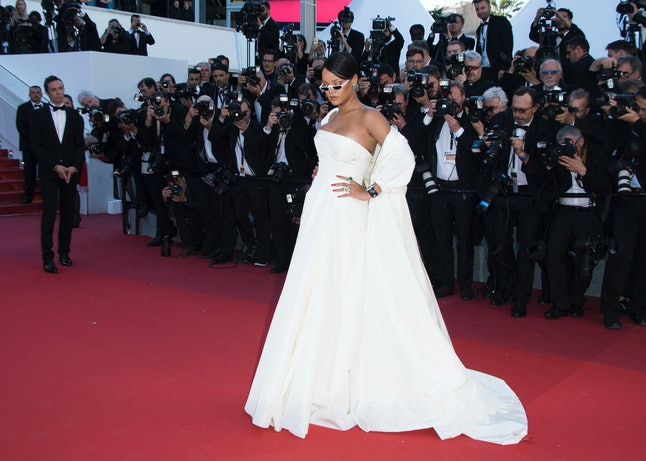 Rihanna slays the red carpet at Cannes.