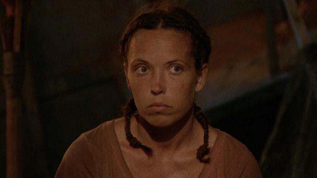 Sarah Lacina at Tribal Council