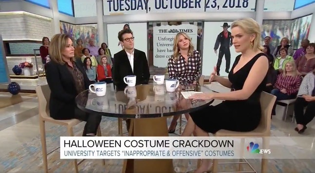 The all-white panel on 'Megyn Kelly Today'