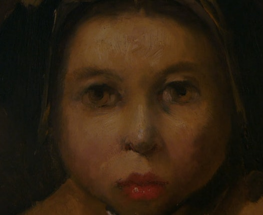 """According to Carrie Fisher, this portrait looks like Shia LaBeouf as a """"Dutch, underage prostitute."""""""