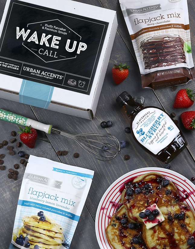 Wake up call breakfast set