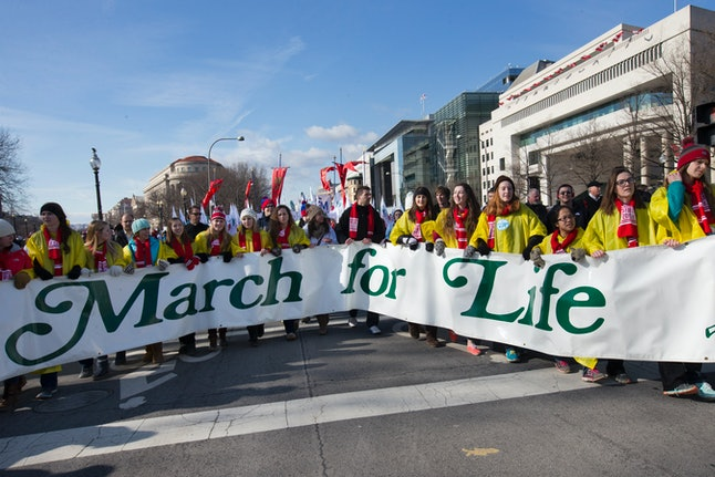 Washington D.C.'s 2015 March for Life