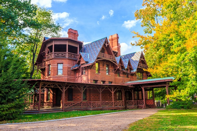 The Mark Twain House and Museum in Hartford, Connecticut