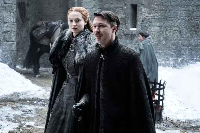 What is Sansa thinking?