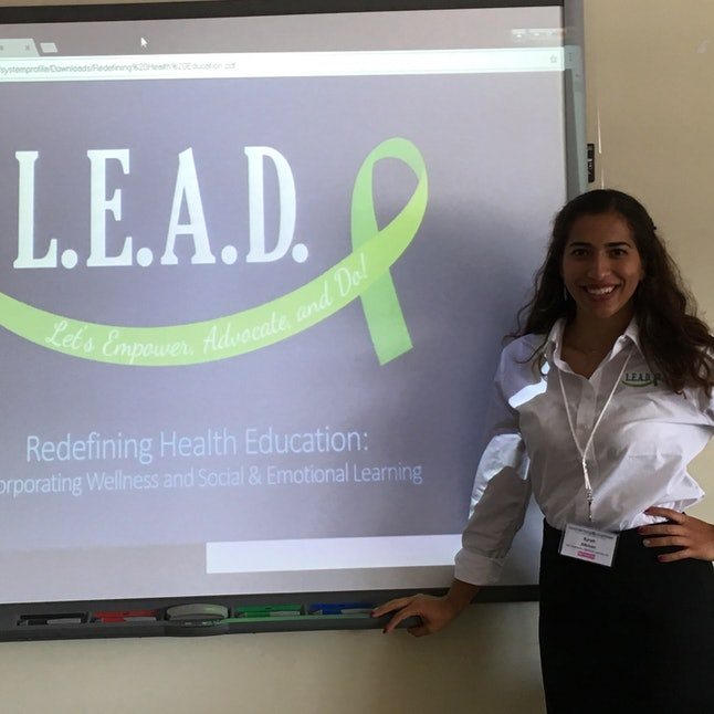 Kyrah Altman, the president and co-founder of LEAD
