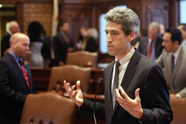 ]Illinois Democratic State Sen. Daniel Biss.