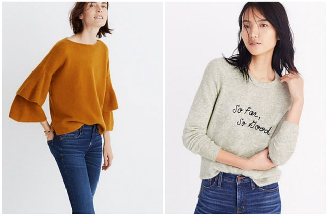 Sweaters at Madewell