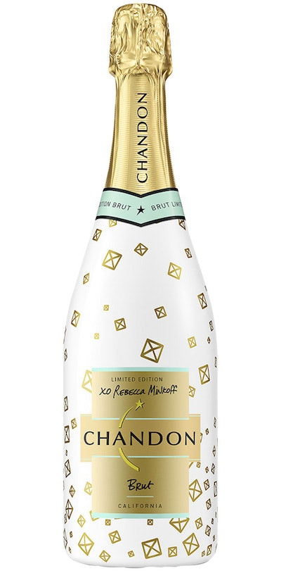 Limited Edition Rebecca Minkoff x Chandon Sparkling Wine