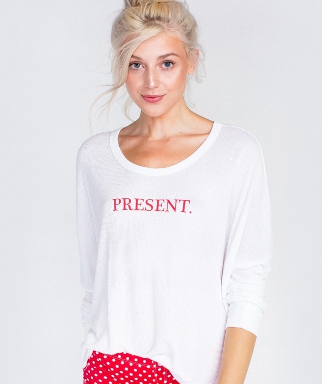 Wildfox Unwrap Me Perrry Thermal