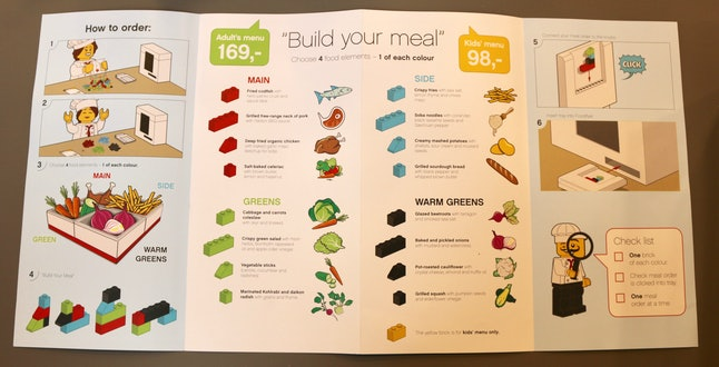 Build your own bento box at the Lego House