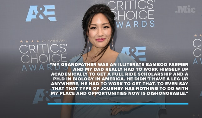Constance Wu at the 21st Annual Critics Choice Awards