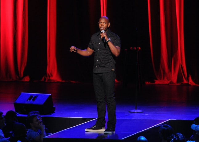 Dave Chappelle performs at Radio City Music Hall in 2014.