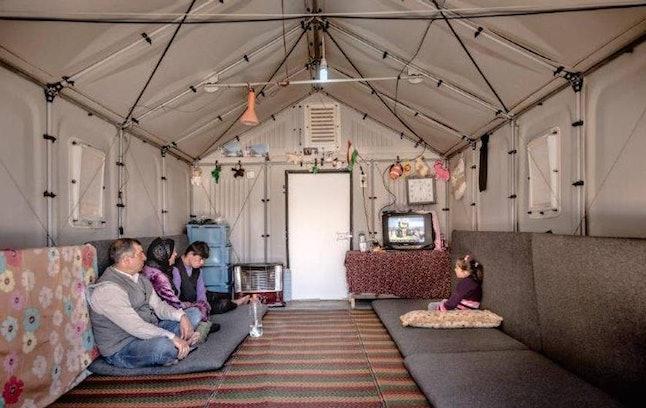 Protoype in Kawergosk Refugee Camp, Erbil, Iraq