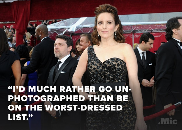 Tina Fey at the Academy Awards in 2010