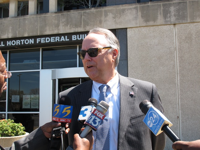Steve Farese speaks to reporters in 2013, when he was defending a woman who admitted to stalking her daughter's boyfriend across state lines.