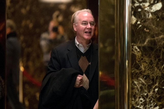 Health and Human Services Secretary Tom Price at Trump Tower