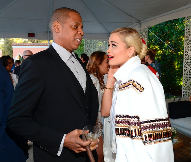 Singer Rita Ora is being sued by Jay Z's music label Roc Nation