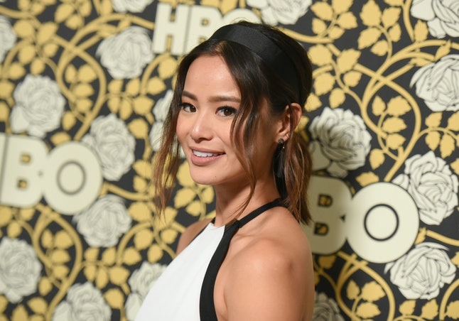 Actress Jamie Chung at an HBO Golden Globes after party event