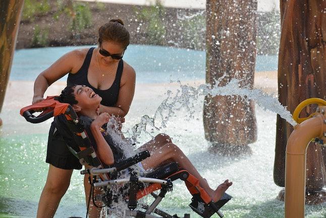Morgan's Inspiration Island splash park
