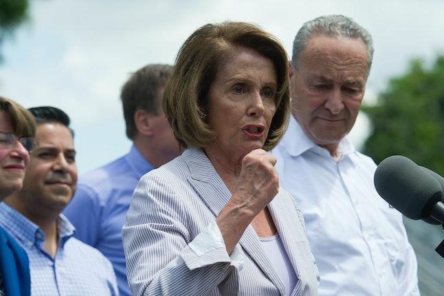 Nancy Pelosi unveils the Democrats' new agenda.
