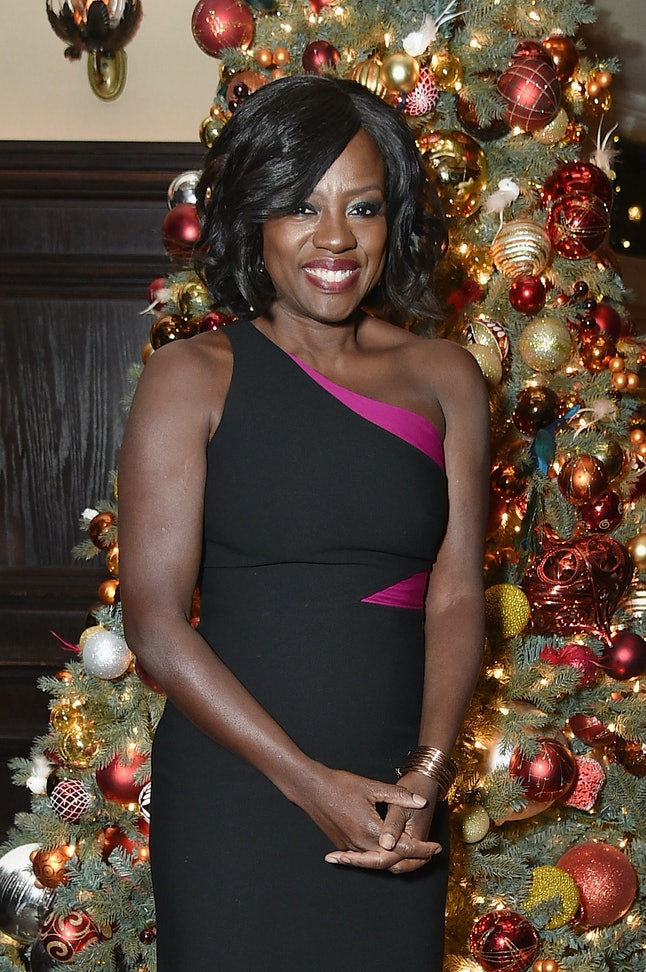 Actress Viola Davis attends the 'Fences' New York Screening after party at Tavern on the Green in New York City on Dec. 19, 2016.