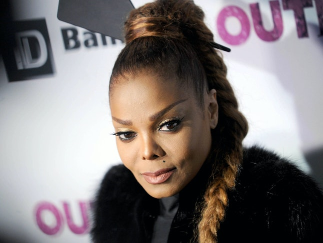 Janet Jackson at the 'Out' magazine Out 100 Gala in New York City on Nov. 9, 2017